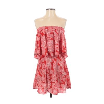 Show Me Your Mumu Casual Dress - Mini: Red Dresses - Used - Size Small