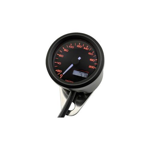 Daytona Velona48 Tachometer 200 km/h schwarz