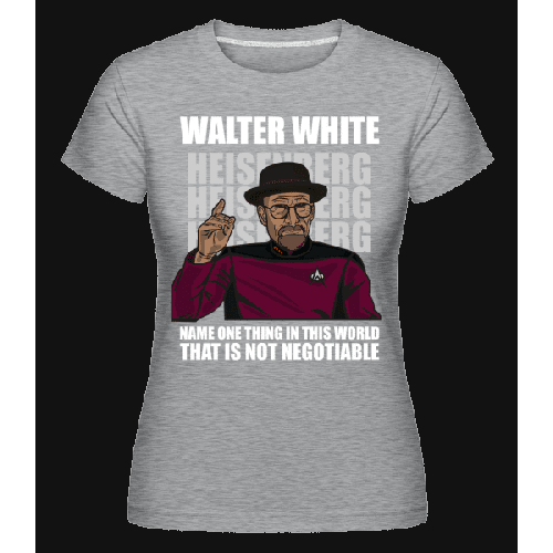 Captain Picard Heisenberg - Shirtinator Frauen T-Shirt