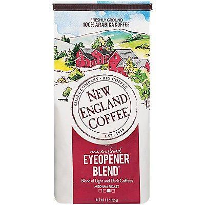 New England Coffee New England Eyeopener Blend Coffee 9 Oz. Ground