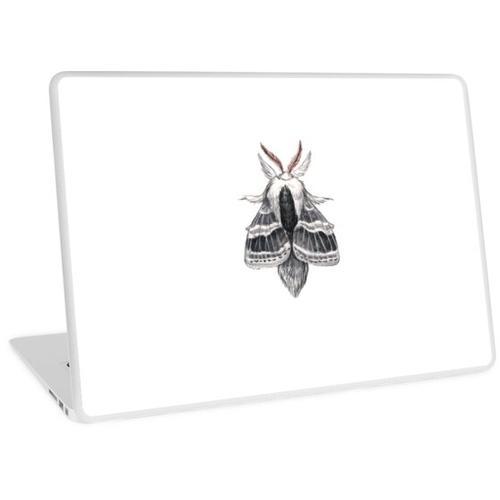 Große Tolype Motte (Tolype velleda) Laptop Skin