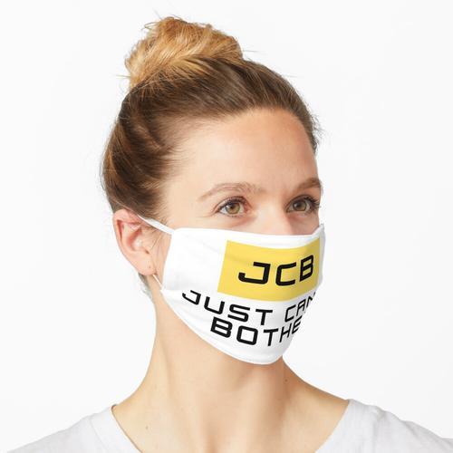 JCB Wortspiel Maske