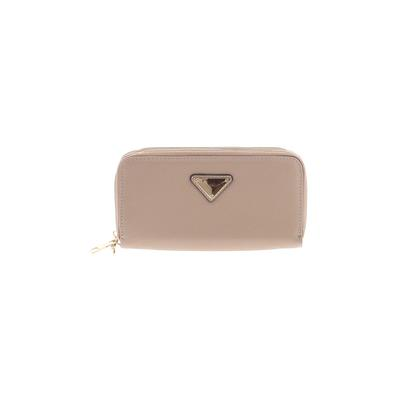 Wallet: Tan Solid Bags