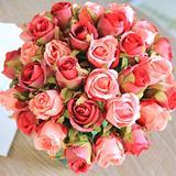 Bouquet de roses artificielles 1...