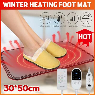 Hiver chauffe-pieds tapis chauff...