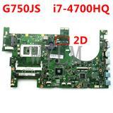 G750JS carte mère Avec i7-4700HQ...