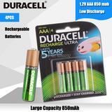 DURACELL – lot de 4 Batteries re...