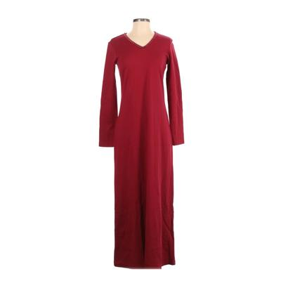 Nordstrom Casual Dress - Maxi: Red Solid Dresses - Used - Size Small
