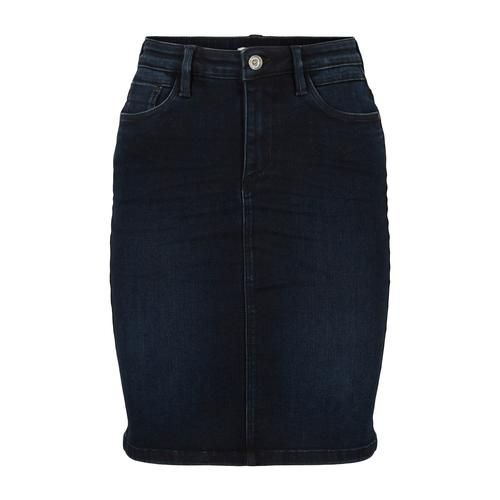 TOM TAILOR Damen Jeansrock, blau, Gr.44