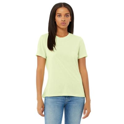 Bella + Canvas 6413 Women's Relaxed Triblend T-Shirt in Sprng Green size 2XL