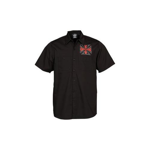 WCC Web Cross Hemd Kurzarm Kurzarmhemd XL