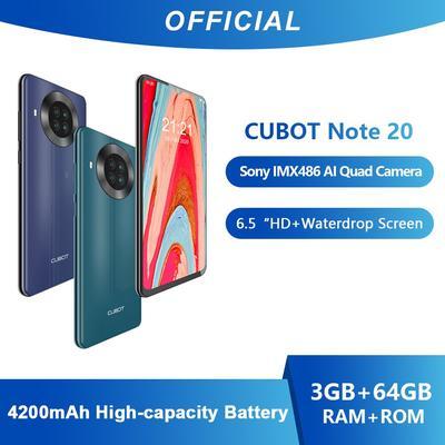 Cubot – Smartphone Note 20, télé...