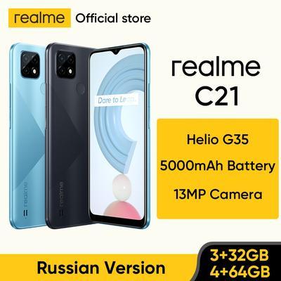Realme – Smartphone C21, Helio G...