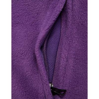 Marks & Spencer Unisex Zip Fleece - Purple - 13-14