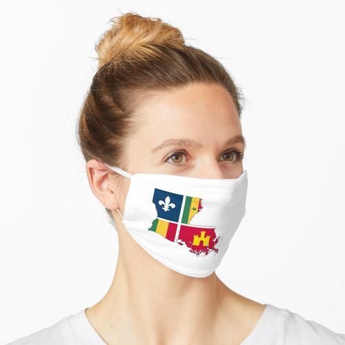 Kreolisches Louisiana Maske