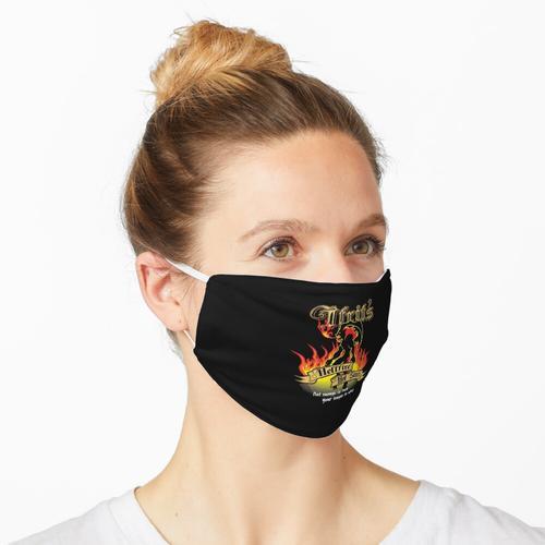 Ifrit's Hellfire Hot Sauce Maske