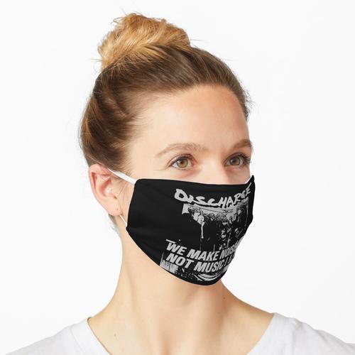 Entladung - Wir machen Lärm, keine Musik Maske