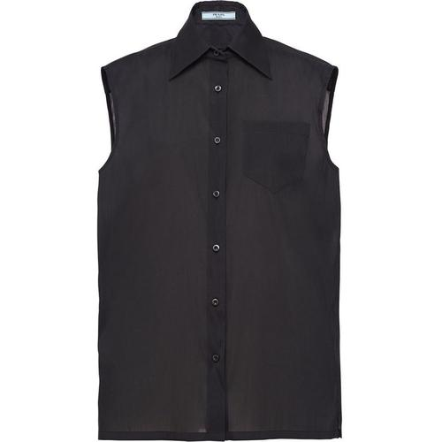 Prada Hemd mit breitem Kragen