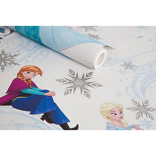 Papiertapete Disney Die Eiskönigin, Anna, Elsa & Olaf, 10,05 m x 53 cm