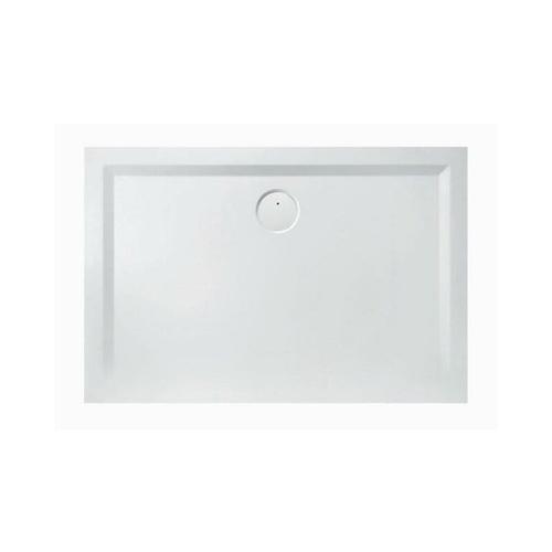 Mineralguss-Duschwanne MUNA 1100 x 900 x 30 mm weiß - Hoesch