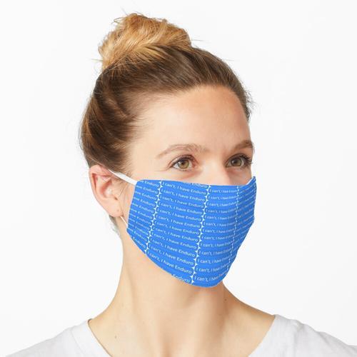 Ich habe Enduro Maske