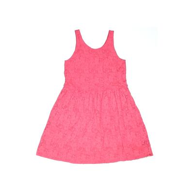 Gap Kids Dress - A-Line: Pink Solid Skirts & Dresses - Used - Size 10