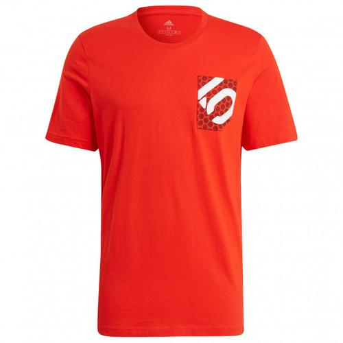 Five Ten - Brand Of The Brave Tee - T-Shirt Gr XXL rot