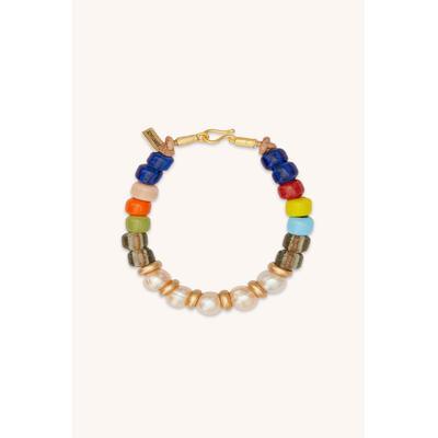 Cleo Pearl Multi Beaded Bracelet