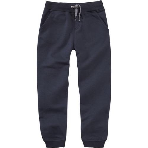 Sweathose mit verstärkten Knien, blau, Gr. 80/86