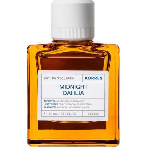 Korres Midnight Dahlia Eau de Toilette (EdT) 50 ml Parfüm