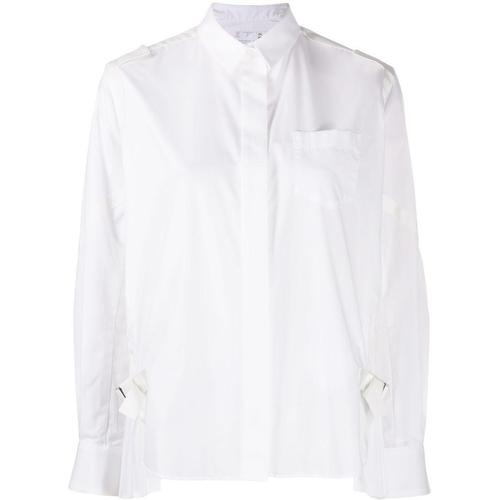 Sacai Hemd mit Falten