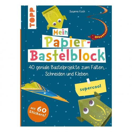 Papier-Bastelblock - supercool