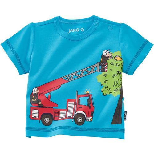 T-Shirt Fahrzeuge, türkis, Gr. 56/62