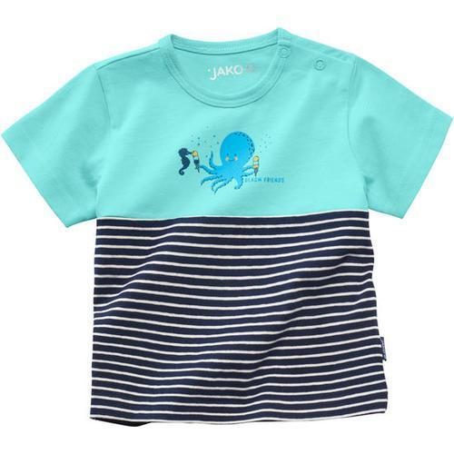 T-Shirt Unterwasserwelt, türkis, Gr. 68/74