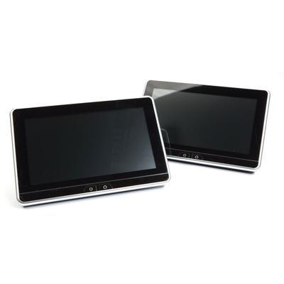 """Voxx AMAVXSB10UHD2 Dual 10.1"""" Hi-Res Touchscreen Monitors"""