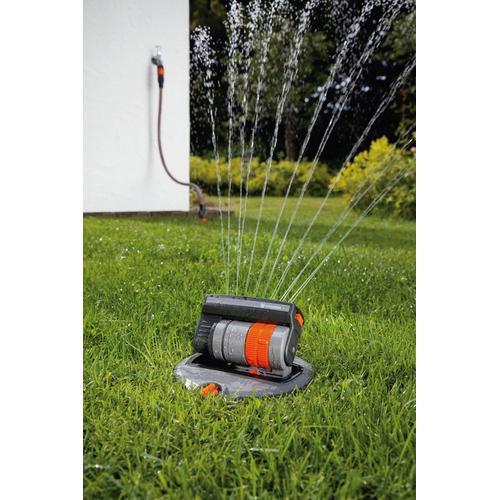 GARDENA Versenkregner OS 140, 08221-20, Komplett-Set grau Rasensprenger Bewässerung Garten Balkon