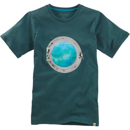 T-Shirt Hologramm, grün, Gr. 128/134