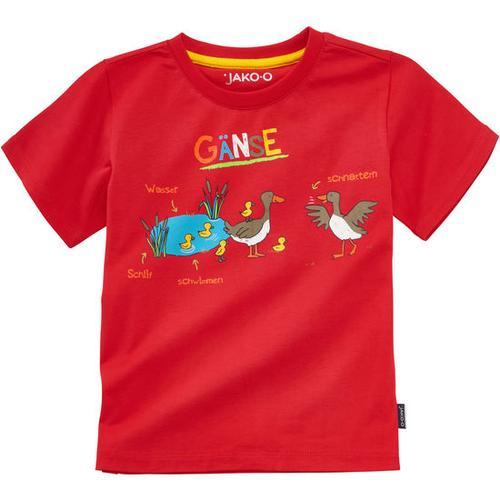 T-Shirt Lerneffekt, rot, Gr. 80/86