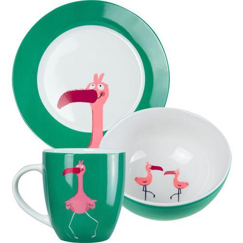 JAKO-O Porzellan-Geschirr-Set, rosa