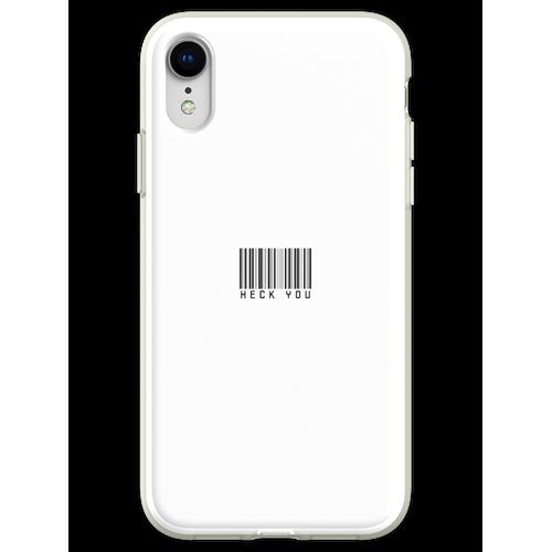Heck Sie Barcode Trendy Custom Sticker Pack Flexible Hülle für iPhone XR