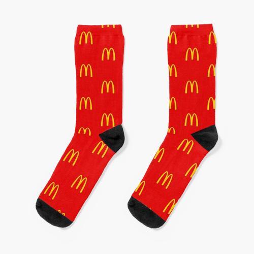 McDonald's Block Logo Socken