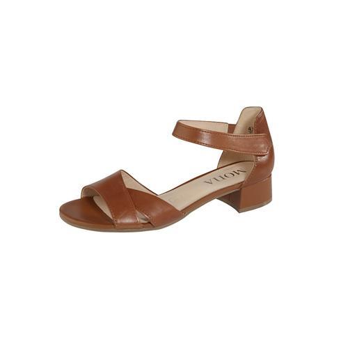 Sandalette MONA Cognac