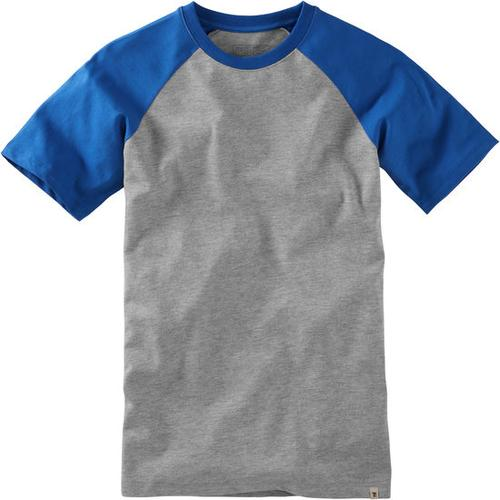 T-Shirt Raglan, blau, Gr. 152/158