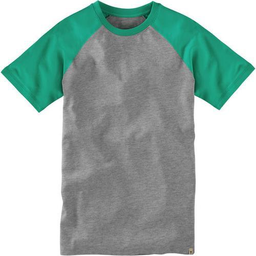 T-Shirt Raglan, grün, Gr. 152/158