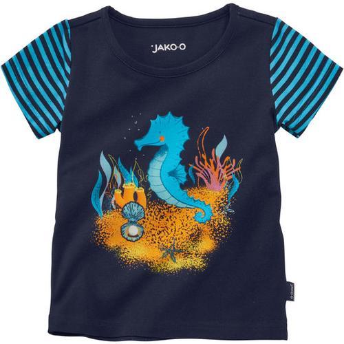 T-Shirt Meerestiere, blau, Gr. 80/86