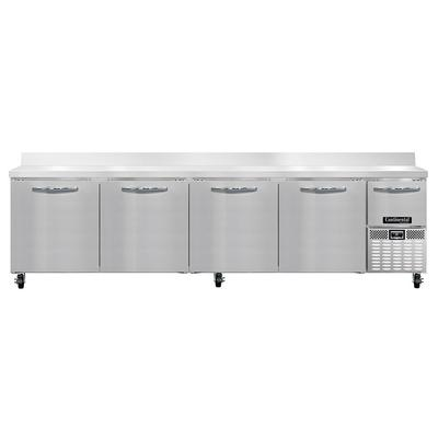 Continental RA118NBS 118″ Pizza Prep Table w/ Refrigerated Base, 115v