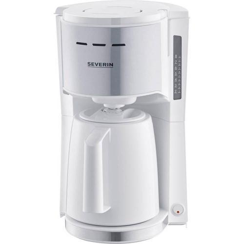 Severin Kaffeemaschine Filterkaffeemaschine, Filterkaffeemaschine, Weiss