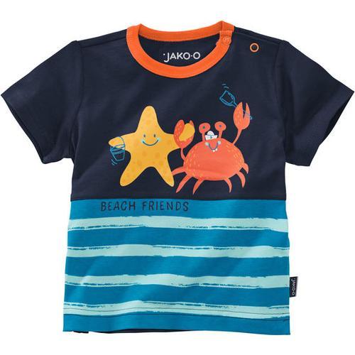 T-Shirt Unterwasserwelt, blau, Gr. 68/74