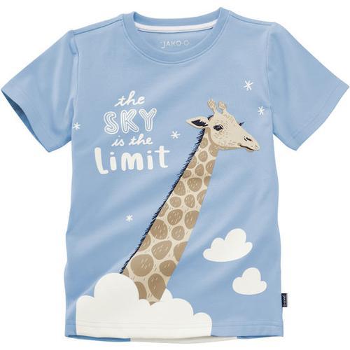 T-Shirt lustige Tiere, blau, Gr. 152/158