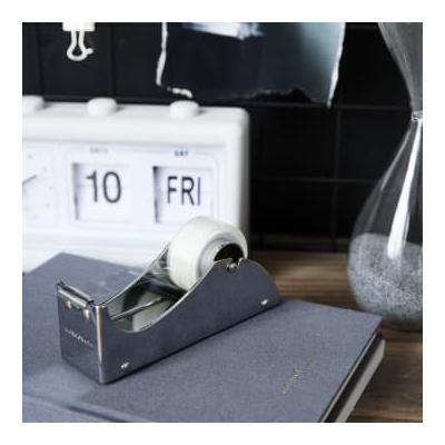 Monograph - Adhesive tape dispenser silver